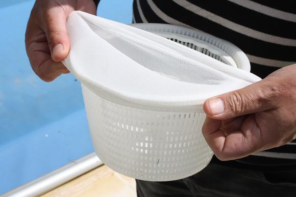 Chaussettes de skimmer for Panier piscine filtre